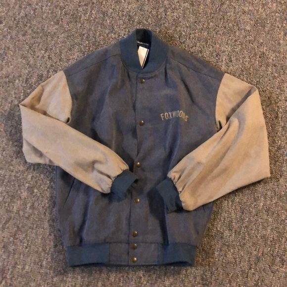 a3da512653cd Vintage Foxwoods Resort Casino bomber jacket
